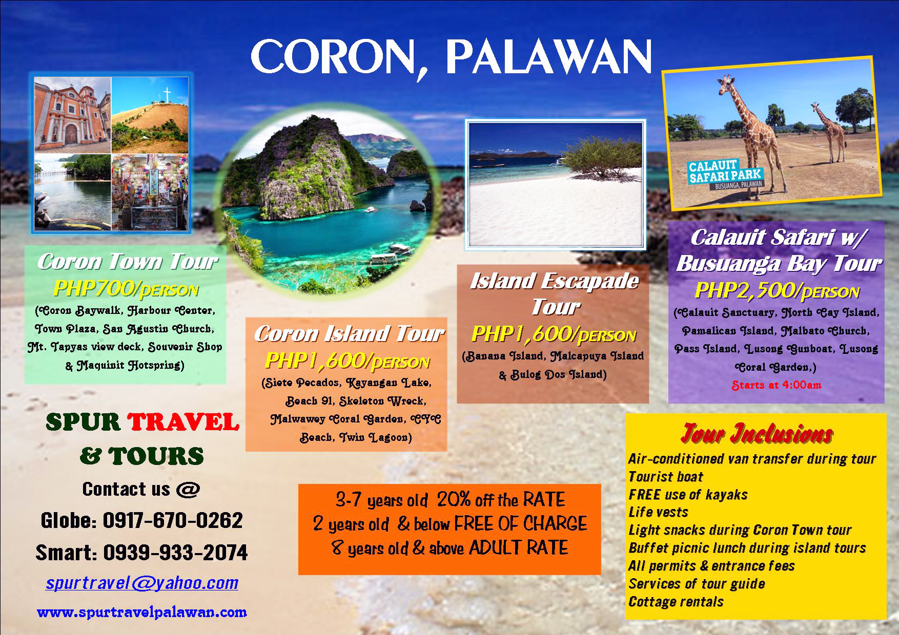 Coron Day Tour