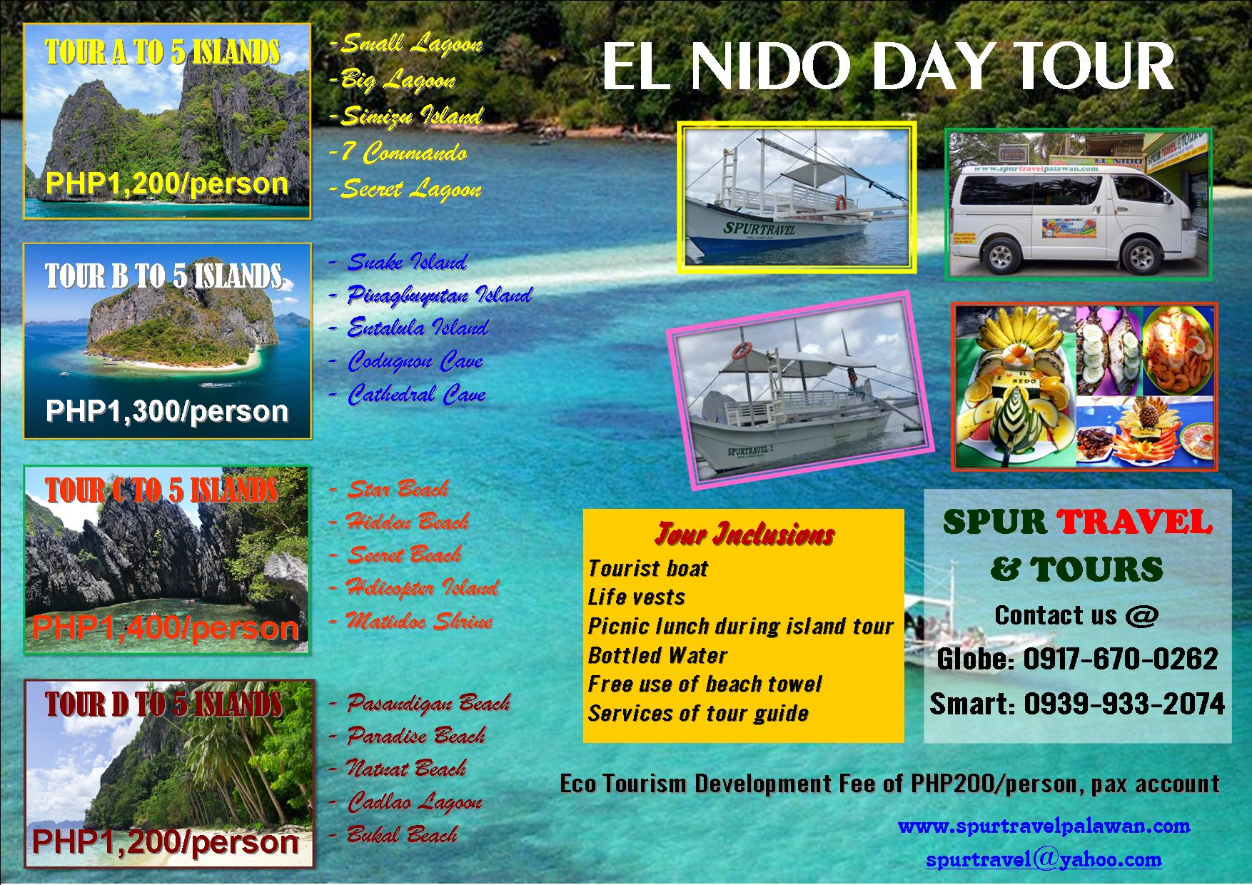 El Nido Day Tour only